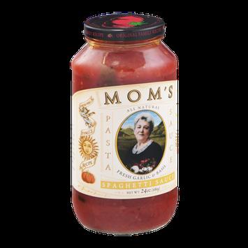Mom's Spaghetti Sauce Fresh Garlic & Basil