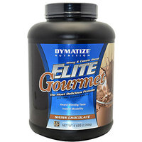 Dymatize Elite Gourmet Swiss Chocolate Whey & Casein Blend Dietary Supplement