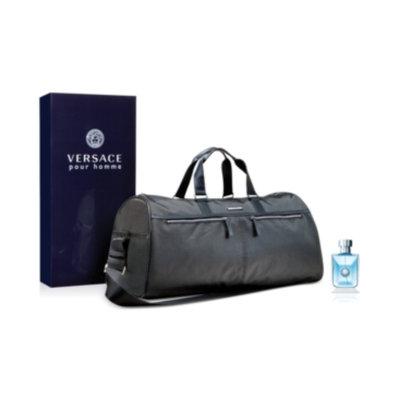 Versace Pour Homme 3.4 oz Eau de Toilette Spray + Complimentary Duffle Bag