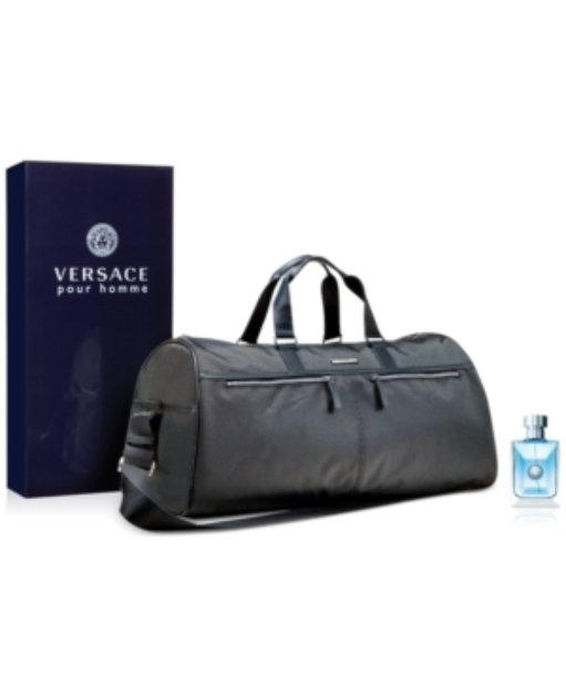 65c34f230739 Versace Pour Homme 3.4 oz Eau de Toilette Spray + Complimentary Duffle Bag  Reviews 2019