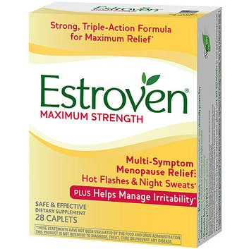Estroven Maximum Strength Menopause Supplement