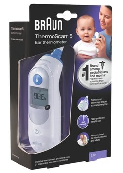 Braun® ThermoScan® 5 thermometer
