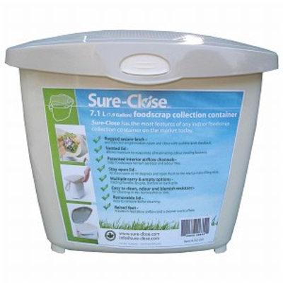 Redmon Sure Close Kitchen Waste Collection Pail