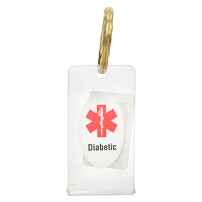Walgreens Medical I.D. Keychain