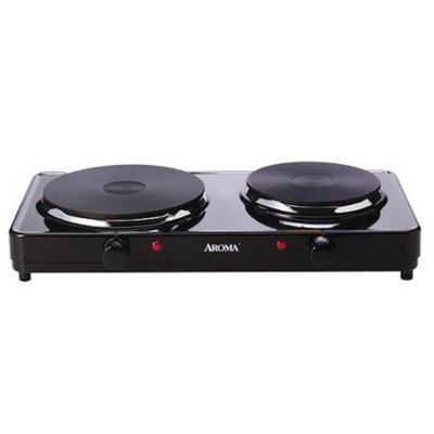 Aroma Double Burner Hot Plate Model AHP312