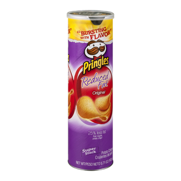 Pringles Reduced Fat Original Potato Crisps