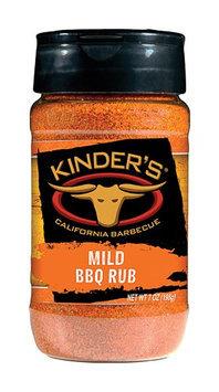 Pk Kinder Co Inc Kinder's Mild BBQ Rub 7 oz-Mfg# 37507 - Sold As 6 Units