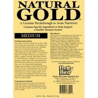 Pretty Bird International BPB74309 Natural Gold Pellets Medium
