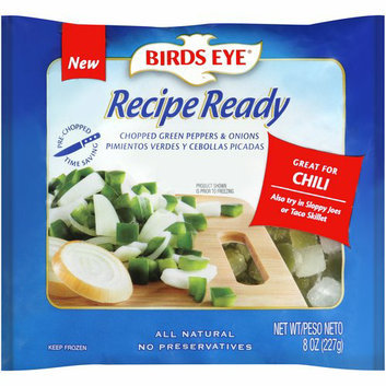 Birds Eye Recipe Ready Chopped Green Peppers & Onions