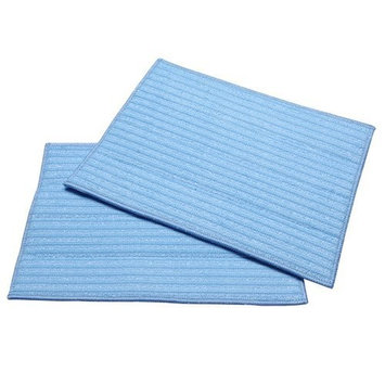 Haan MF2 2-Ultra Microfiber Cleaning Pads, Blue