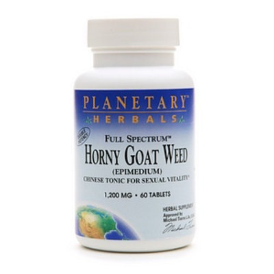 Planetary Herbals Full Spectrum Horny Goat Weed 1200mg