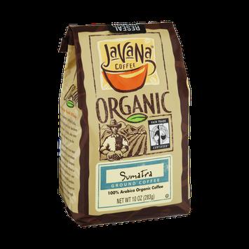 JavaNa Coffee Organic Sumatra Ground Coffee