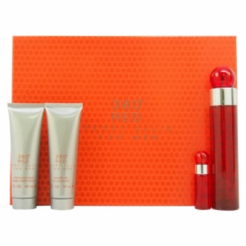 Perry Ellis 360 Red by Perry Ellis, 4 Piece Gift Set for Men