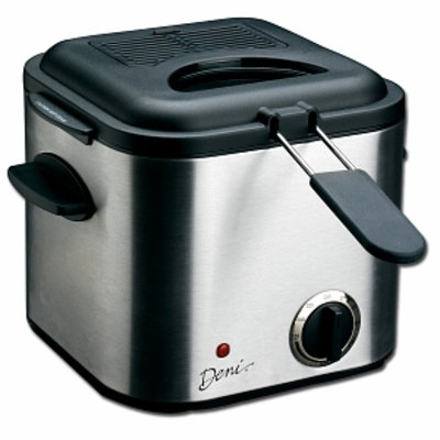 Deni Mini Stainless Steel Deep Fryer 1.25qt, 1 ea