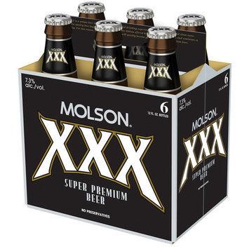 Molson XXX Super Premium Beer, 12 fl oz, 6-Pack