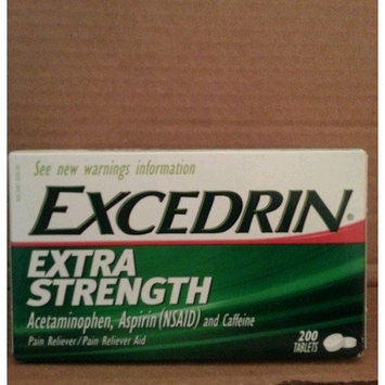EXCEDRIN Extra Strength 200 TABLETS