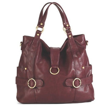 Timi And Leslie timi & leslie Hannah Diaper Bag, Burgundy (Discontinued by Manufacturer) (Discontinued by Manufacturer)