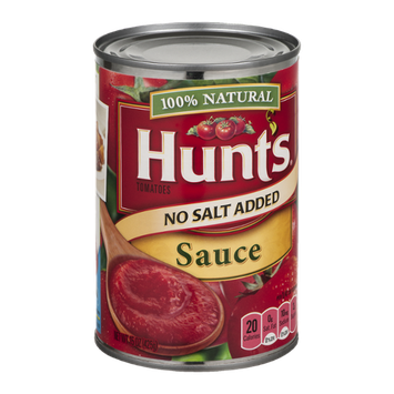 Hunt's Tomatoes Sauce No Salt Added