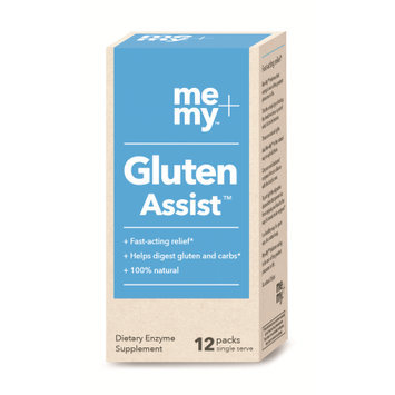 Me+my Me + My Gluten Assist Dietary Enzyme Supplement Packs, 12 count