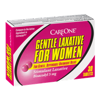 CareOne Gentle Laxative for Women Tablets - 30 CT