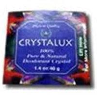 Crystalux Deodorant Crystal Mini Disk Trial Stone 1.40 Ounces