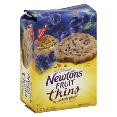 Newtons  Fruit Thins Blueberry Brown Sugar