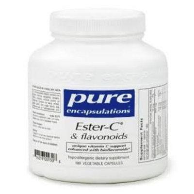 Pure Encapsulations Ester-C &and Flavonoids 180 Vegetable Capsules