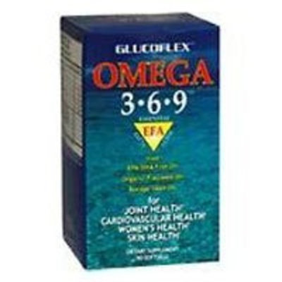 Glucoflex Omega 3-6-9 softgels by Windmill - 90 Softgels