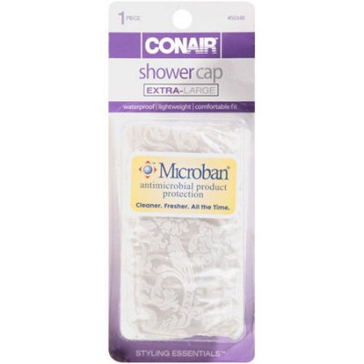 Conair Styling Essentials Shower Cap, Extra Large, 1 piece - CONAIR CORPORATION