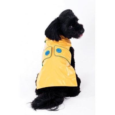 Ethical Pets Savvy Dog Slicker Size: Small, Color: Yellow