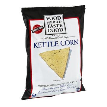 Food Should Taste Good All Natural Kettle Corn Tortilla Chips
