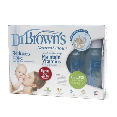 Dr. Brown's Natural Flow Deluxe First Year Feeding Set