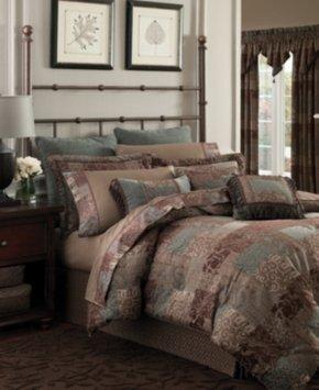 Croscill Galleria Brown California King Sheet Set Bedding