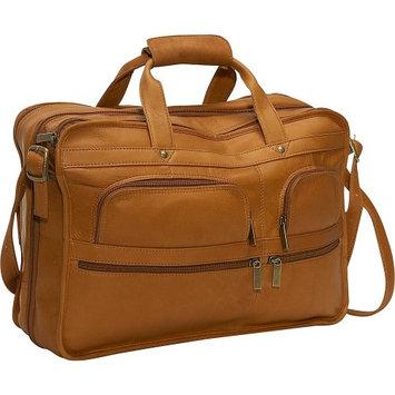 David King & Co. David King & Co 180T Expandable Laptop Bag- Tan