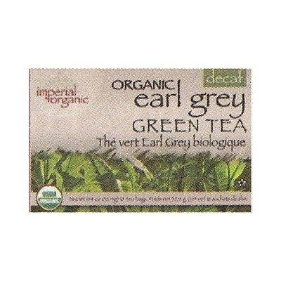 Uncle Lee's Uncle Lees Tea Imperial Organic Earl Grey Green Tea Decaf 18 Tea Bags