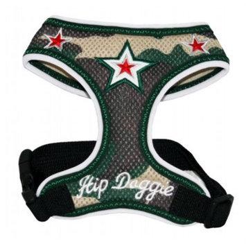 Hip Doggie Camo Super Star Mesh Harness Vest, XXL