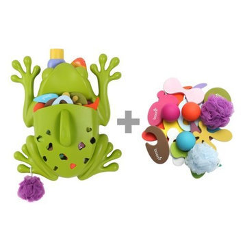 Boon Frog Pod Deluxe with Bath Toys (Discontinued by Manufacturer)