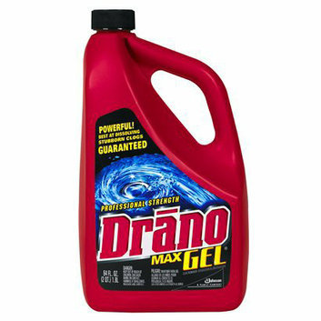 Drano Max Professional Strength Gel 64 oz