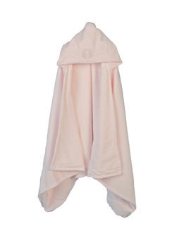 Barefoot Dreams Hooded Towel Pink - Seahorse - 1 ct.