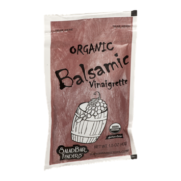 Salad Bar Tenders Dressing Organic Balsamic Vinaigrette