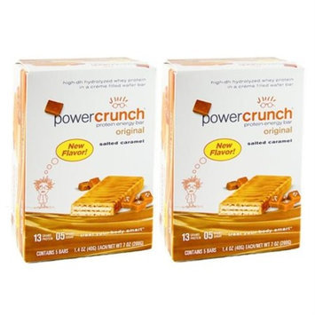 Bio Nutritional Bionutritional Research Group - Power Crunch Protein Energy Bar Salted Caramel, 1.4 oz - 5 ct (Pack
