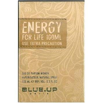 Blue Up W-5305 Energy for Life Womens EDP Spray 3.3 oz