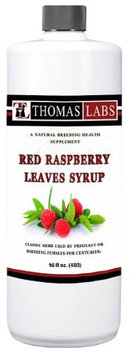 Thomas Labs Red Raspberry Leaves Syrup (16 oz)