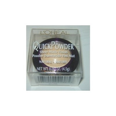 L'Oréal Paris QuickPowder Sheer Matte Finish Natural