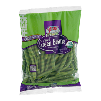 Pero Family Farms Organic Snipped Green Beans