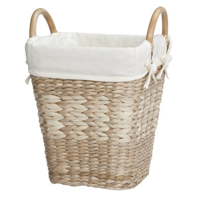 Creative Bath Arcadia Collection Lined Wastebasket