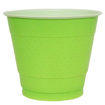 Hanna K Signature Hanna K. Signature 80580 9 Oz Lime Green Plastic Cup - 600 Per Case