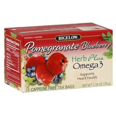 Kehe Distributors Bigelow Herbal Pomegranate Blueberry, 1-ounces (Pack of6)