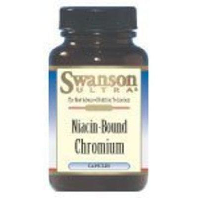 Swanson Ultra Niacin-Bound Chromium 200 mcg 120 Caps