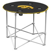 Logo Chair Company Iowa Hawkeyes Round Table